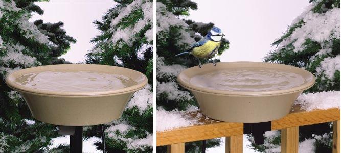 heated birdbath ez tilt